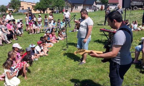 v rómskych komunitách